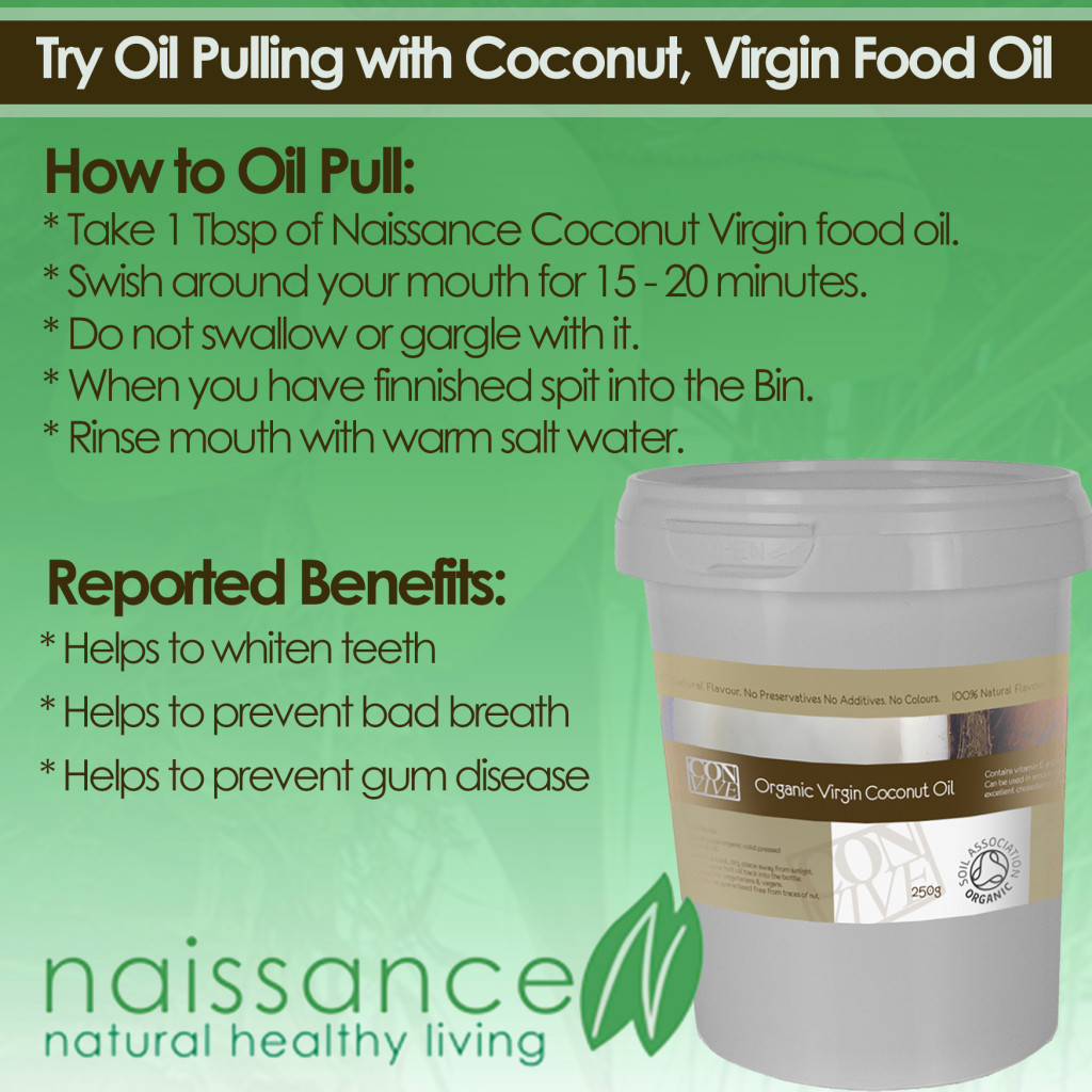 coconut oil pulling naissance 2015