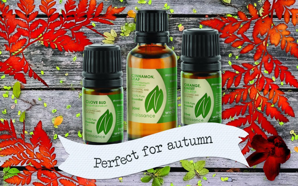 Autumn essential oils